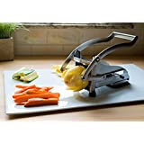 Westmark Germany Potato Vegetable French Fry Cutter 3 Interchangeable Blades Stainless Steel