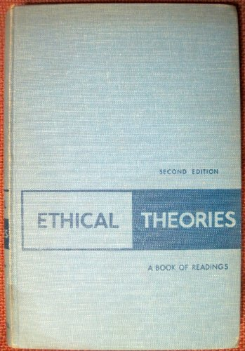 Ethical theories;: A book of readings, Melden, A. I