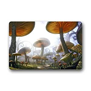 Akf shop decorative mushroom doormats welcome for Decorative door mats indoor