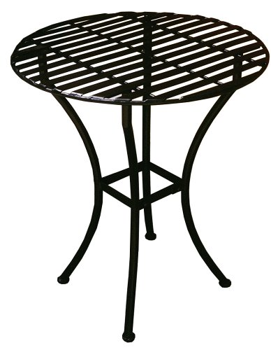 PTC Home & Garden Bistro Round Table, Black - Buy PTC Home & Garden Bistro Round Table, Black - Purchase PTC Home & Garden Bistro Round Table, Black (PTC Home & Garden, Home & Garden,Categories,Patio Lawn & Garden,Outdoor Decor)