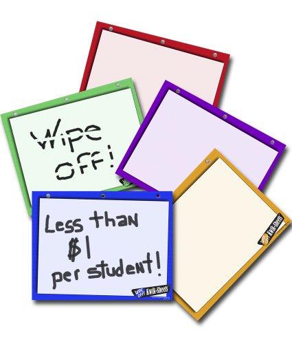 5 Color Kwik Sheets Set of 30