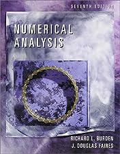 Numerical Analysis by Burden