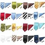 Krawatten Set 3tlg Seide Krawatte +Ei...