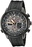 "Citizen Men's JY8035-04E ""Navihawk"" Stainless Steel Eco-Drive Watch"