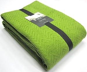 sabichi zig zag throw green kitchen home. Black Bedroom Furniture Sets. Home Design Ideas