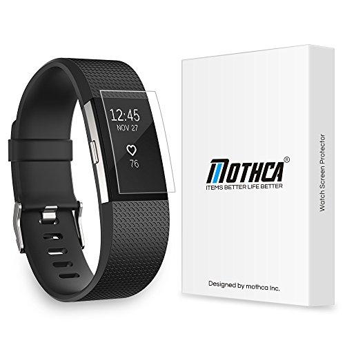 Fitbit Charge 2 Protezione dello Schermo, Mothca (6-pack) Proteggi Schermo