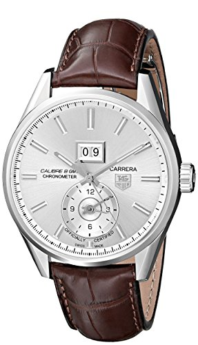 TAG-Heuer-Mens-THWAR5011FC6291-Carrera-Analog-Display-Swiss-Automatic-Brown-Watch