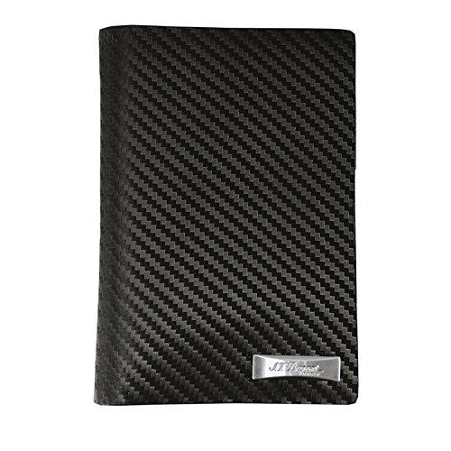 st-dupont-brieftasche-fa-1-4-r-kreditkarten-defi-carbon-schwarz-170008
