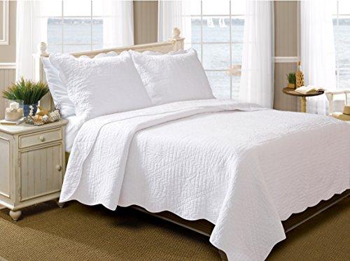 White Bedding King 255 front