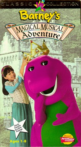 Barney's Magical Musical Adventure [VHS]