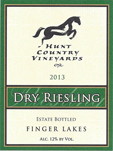 2013 Hunt Country Vineyards Dry Riesling Finger Lakes Estate Bottled 750Ml