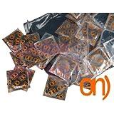 "On) "" Stimulation "" - boîte des 100 préservatifs stimulants"