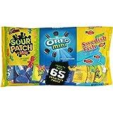 Sour Patch Kids, Swedish Fish, Oreo Seasonal Halloween Treat Size Candy Assortment, 2.44 Pound
