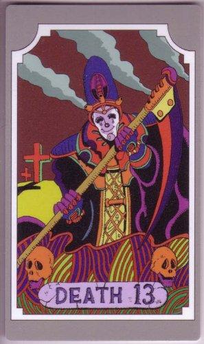 ジョジョの奇妙な冒険ABC [タロットカードエディション] タロットカード DEATH 13(デス)