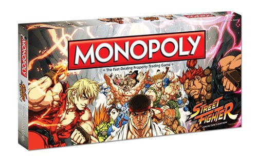 Monopoly: Street Fighter Collector?S Edition