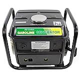 Shop4Omni Portable Two Stroke 950 Watt Air-Cooled Gasoline Generator (Color: black)