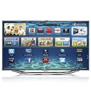 Samsung UE46ES8000 46 -inch LCD 1080 pixels 800 Hz 3D TV