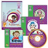 Learn To Read using Montessori Home Real E-FUN New Reader Collection Level 3