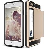 iPhone6s Plus / iPhone6 Plus ケース VERUS Damda Slide カードケース 搭載 プラスチック + TPU ハードケース for Apple iPhone 6s Plus / iPhone 6 Plus 5.5 インチ シャインゴールド 【国内正規品】 国内正規品証明書 付
