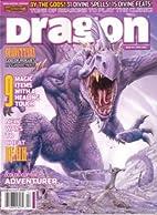 Dragon Magazine 342 by Erik Mona