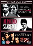 Scarface / Casino / American Gangster [DVD]