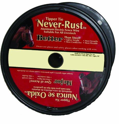 Dare Products Inc P 16Al1320 Never Rust Aluminum Wire Silver 16Ga X 1/4 Mi