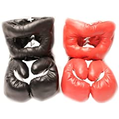Buy New 16oz Sets 2 Headgear 2 Pair Boxing Punching Gloves by Shelter