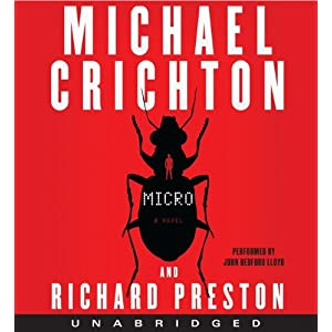 Micro by Michael Chrichton and Richard Preston Audiobook