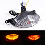 Moto Onfire Motorcycle Integrated LED Taillight For KTM Duke 125 200 390 All Years - Clear