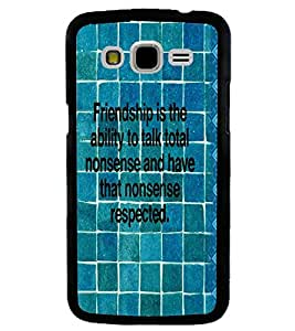 PRINTVISA Quotes Friendship Case Cover for Samsung Galaxy J5::Samsung Galaxy J5 J500F