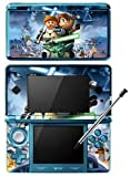 Lego Star Wars 3 III The Clone Wars Game Skin for Nintendo 3DS Console