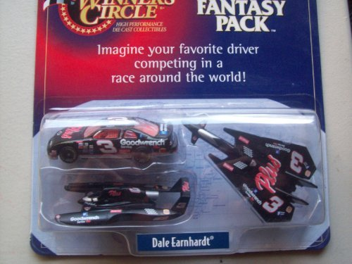Winner's Circle Dale Earnhardt Goodwrench Monte Carlo,Plane and Speed Boat