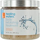 HEALING WATERS by Aromafloria SUGAR-SALT SCRUB - EXFOLIATING TREATMENT 22 OZ for UNISEX ---(Package Of 3)