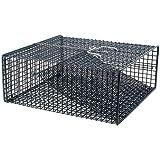 Frabill Crawfish Trap (Black 12 x 12 x 5-Inch Flat)