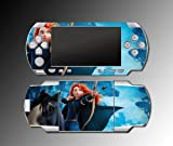 Brave Merida Archer Heroine Video Game Vinyl Decal Skin Protector Cover 3 Sony PSP Playstation Portable 1000