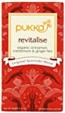 Pukka Organic Revitalise 20 Teabags (Pack of 4, Total 80 Teabags)