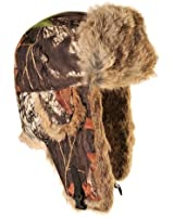 Mad Bomber Saddlecloth Bomber Cap with Real Rabbit Fur