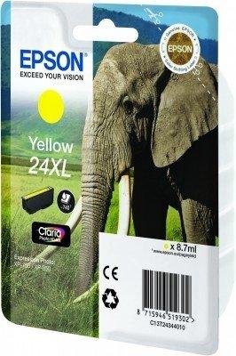 EPSON Cartouche d'encre jaune Eléphant 24XL