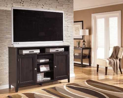 Cheap Contemporary Dark Brown Oversized TV Stand (W371-48)