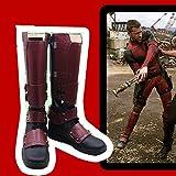 コスプレ道具 靴 デッド コスチューム プール 風 ハロウィーン コスチューム イベント 変身 変装 (27cm)