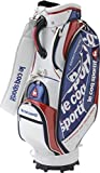 le coq sportif(ルコックスポルティフ) ゴルフグッズ ゴルフ キャディバッグ メンズ QQ1227 (N921)ホワイト FREE
