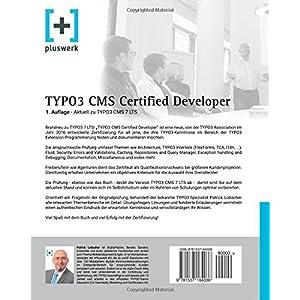 TYPO3 CMS Certified Developer: Vorbereitung auf die Prüfung der TYPO3 Association (1. Auf