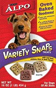 Alpo Snaps Variety Pack - 12 Pack