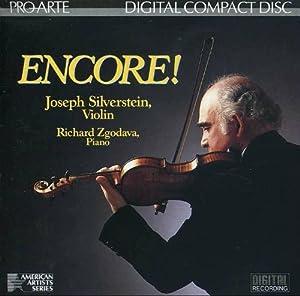 Encore! (Violin Encores / American Artists Series)