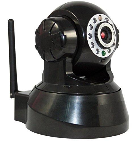 Pan Tilt WLAN IP Kamera WiFi Zwei-Wege Audio Nacht Vision Nachtsicht IP Netzwerk Kamera ip cam Für MAC / Windows / Linux / Android und IPhone, support Alarm Ausgang, Alarm per Email, FTP, Zugriff über das Internet, Free Mobile Remote Viewing