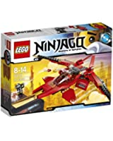 Lego Ninjago - Playthèmes - 70721 - Jeu De Construction - Le Superjet De Kai