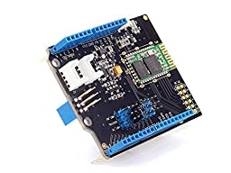 Bluetooth shield to communicate with the arduino to