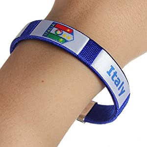 Buy Electronic 2014 FIFA World Cup National Soccer Football Team Bracelet Wristband by Electronic
