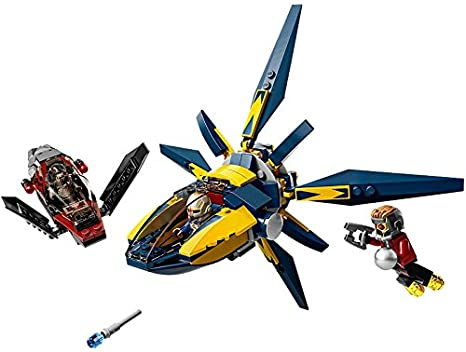 LEGO Super Heroes- Marvel - 76019 - Jeu De Construction - Le Combat Du Starblaster