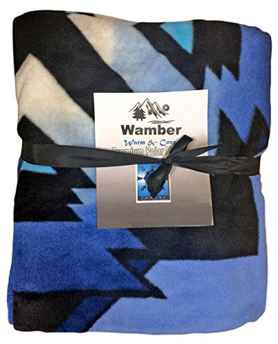 Fleece Blanket – Black Friday HALF PRICE sale – Best for Winter- Use for Kids, Baby, Bed, Sofa throw, Comforter, Guest, Thanksgiving- Stay Heated and Warm – Makes great Christmas Gift – Not Electric -Stylish Design – XL Twin – Full size – Larger than Double – Free space -Tops Queen Size -Blue – Protect your Investment – Money Back Guarantee image